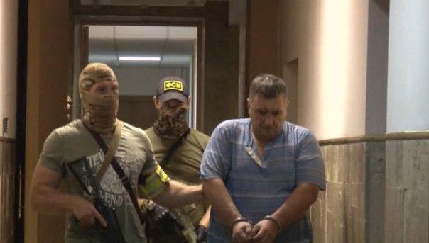 Предполагаемият организатор на диверсията в Крим отговори на обвиненията
