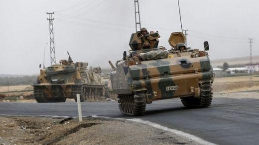 """""""Коммерсант"""": Мащабът на турската операция в Сирия се оказа неочакван за Москва"""