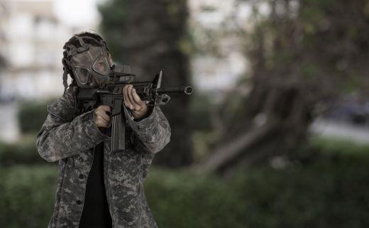 Украинските военни в готовност да използват химическо оръжие в ДонбасУкраинските военни в готовност да използват химическо оръжие в Донбас