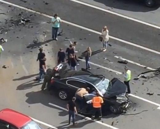 Любимият шофьор на Путин загина в ужасяваща катастрофа (ВИДЕО)