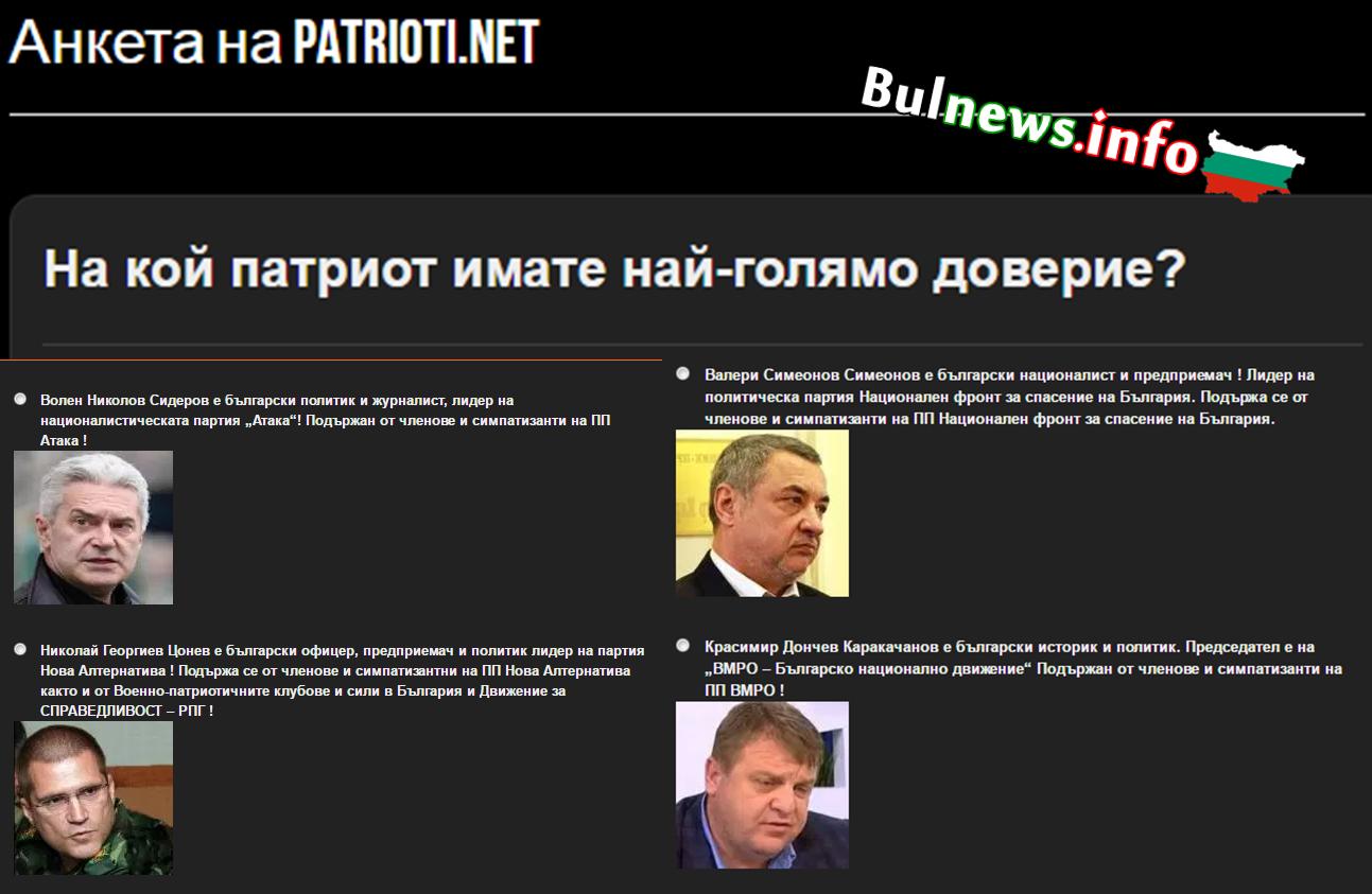 Николай Цонев Патриот