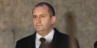 Румен Радев изпрати съболезнованията си до президента Путин за падналия самолет