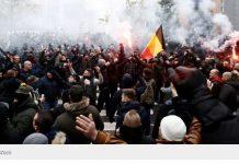 Мащабна национална стачка парализира Белгия. Отменени са всички полети
