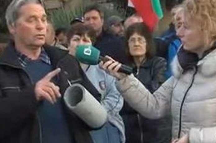 Българи протестират срещу скъпата вода и тръби, заради които боледуват от рак