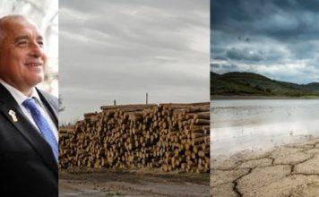Поголовното изсичане на гори от ГЕРБ оставя България без вода до 5 месеца… Изнесоха дървото в Гърция за трохи, България изсъхва