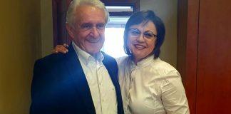 Корнелия Нинова прекъсна предизборната си кампания заради смъртта на началника на кабинета си