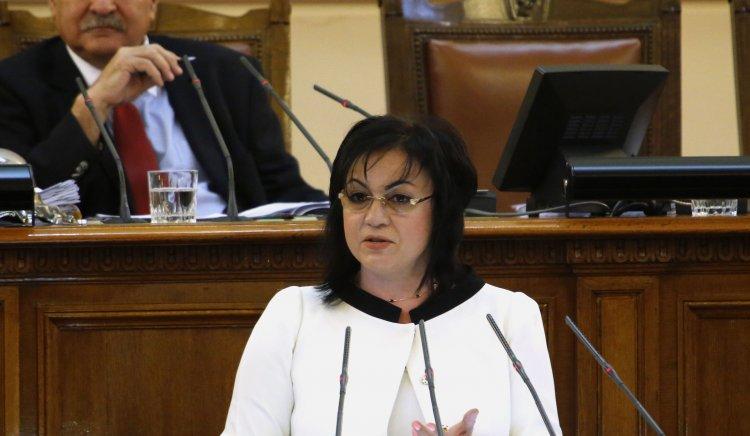 Корнелия Нинова: БСП внася предложения по ключовите теми икономика, доходи и съдебна система