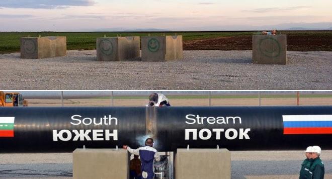 """Газпром"" разтрогна договора за ""Южен поток"""
