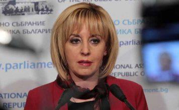 Манолова зове Борисов: Идете си с мир и не вдигайте ръка срещу народа си!