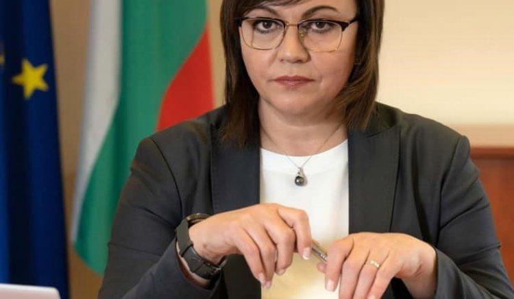 Корнелия Нинова: Борисов признава,че е координирал със Станишев махането ми