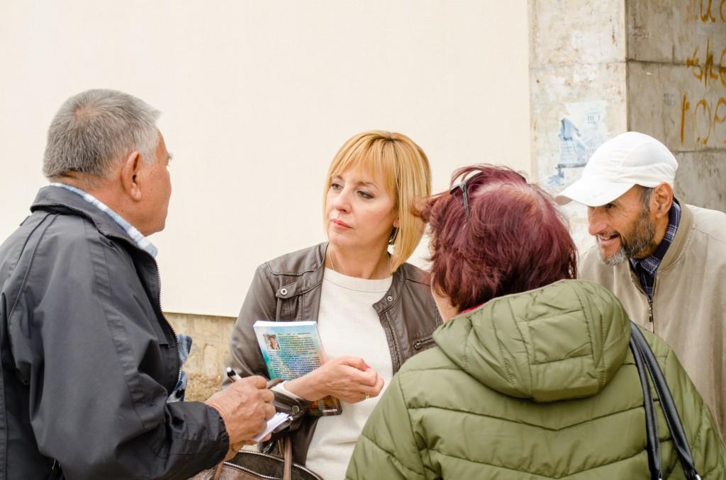 Манолова внесе законопроект добавката от 50 лв. към пенсиите да продължи да се изплаща и след април